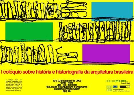 I colóquio sobre história e historiografia da arquitetura brasileira