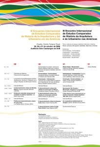 III Encontro Internacional de Estudos Comparados de História da Arquitetura e do Urbanismo nas Américas