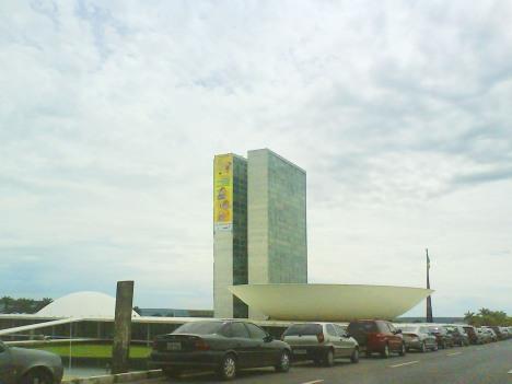 Foto tirada no dia 17 de novembro de 2008, pela manhã