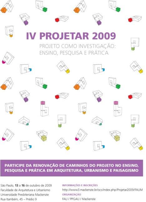 IV Projetar 2009